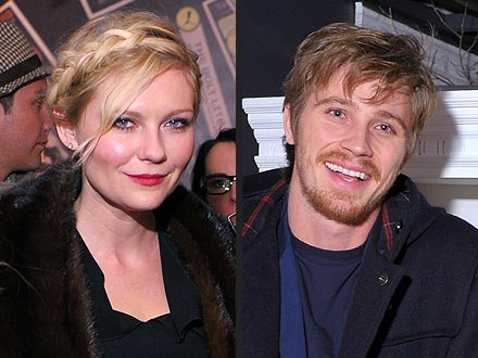 Kirsten Dunst Kisses New Beau Garrett Hedlund at Sundance