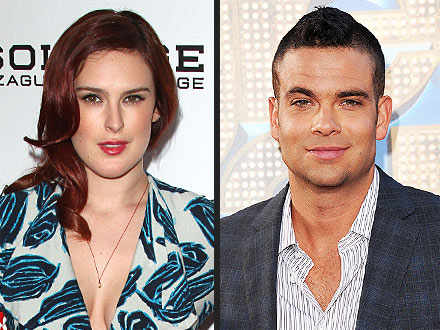 Rumer Willis Buddies Up to Mark Salling at Private Music Party