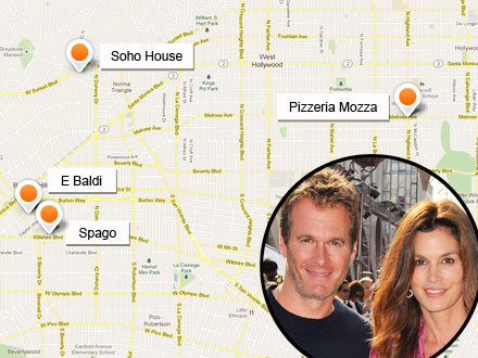 Rande Gerber: Caliche Rum Launch, Hotspots List