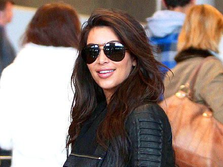 Kim Kardashian Goes Luxury Shopping in Paris