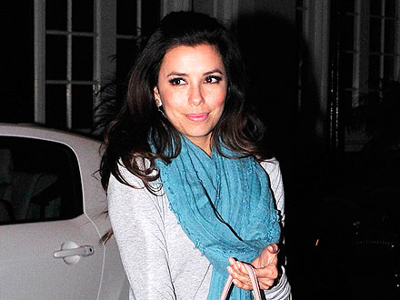 Eva Longoria Celebrates 37th Birthday with Friends