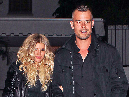 Fergie and Josh Duhamel Party on St. Patrick's Day