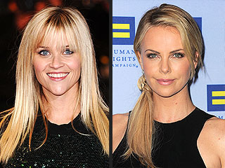 Reese Witherspoon & Charlize Theron Have a Ladies-Only Night Out | Charlize Theron, Reese Witherspoon