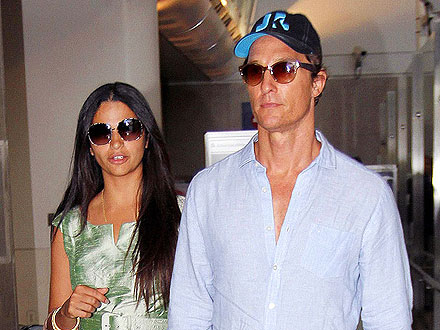 Matthew McConaughey and Camila Alves Attend  (Another!) Wedding