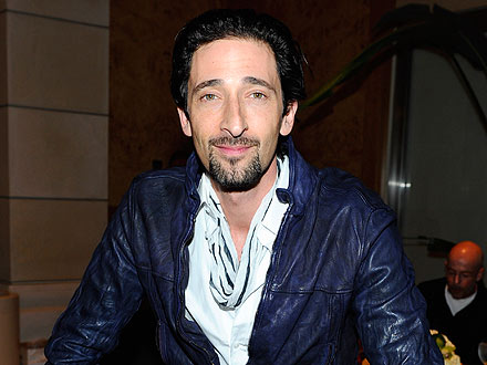 Adrien Brody 'Attached at the Hip' to Mystery Brunette in West Hollywood