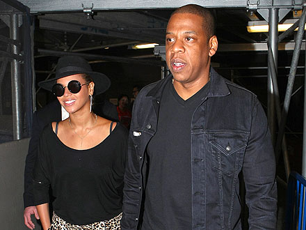 Beyoncé Dances While Jay-Z Schmoozes at a Party in N.Y.C.