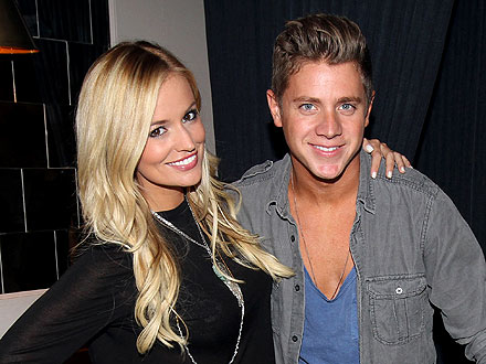 Emily Maynard Toasts Fiancé Jef Holm's Birthday with Lovey-Dovey Dinner Party