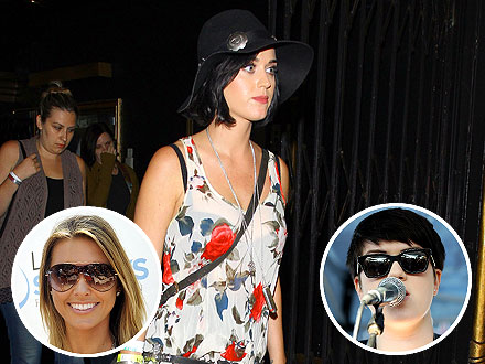 Katy Perry & Audrina Patridge Rock Out to the Same Indie Band