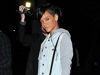 Rihanna Wines and Dines in Beverly Hills | Rihanna