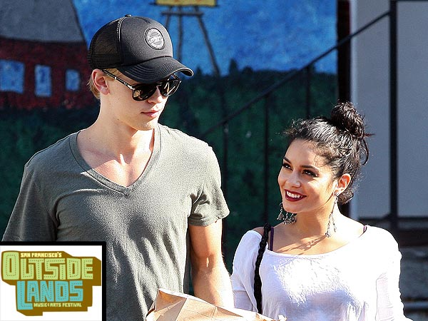 Vanessa Hudgens Dances to Electronic Music as Austin Butler Watches Adoringly