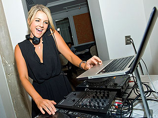 Ali Fedotowsky Hits the DJ Booth for Her Birthday | Ali Fedotowsky