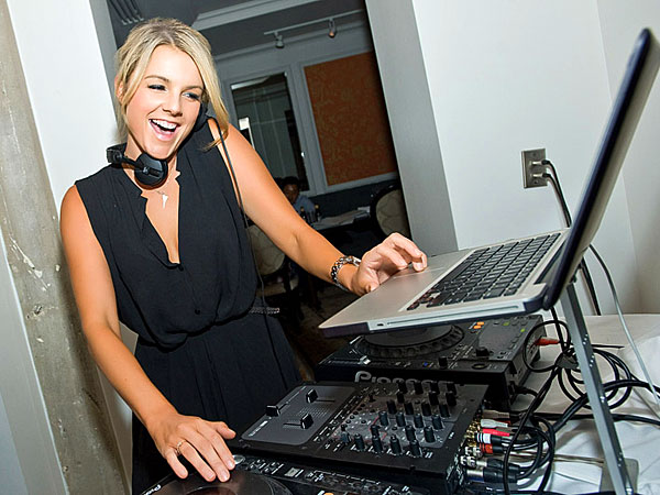 Ali Fedotowsky Hits the DJ Booth for Her Birthday