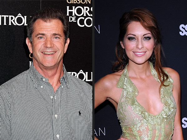 Mel Gibson & Rumored Girlfriend Have 'Very Happy' Night Out in Hollywood