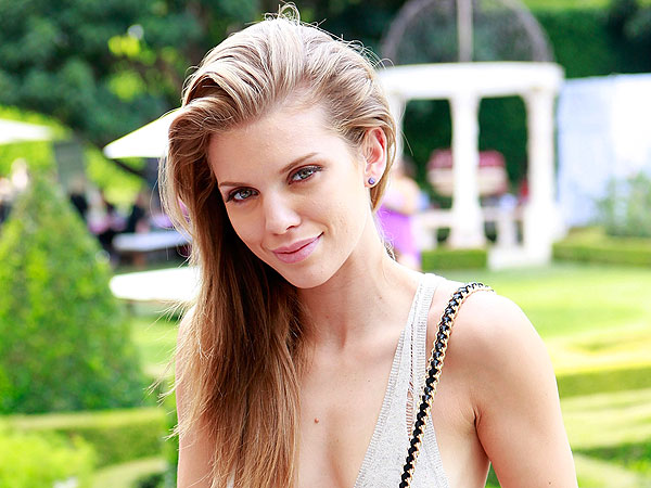 AnnaLynne McCord's Pampered Pedicure in Beverly Hills