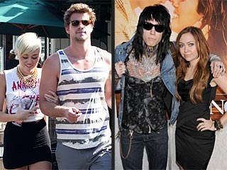 Miley Cyrus Rocks Out with Liam (and Her Family!) in Hollywood | Liam Hemsworth, Miley Cyrus