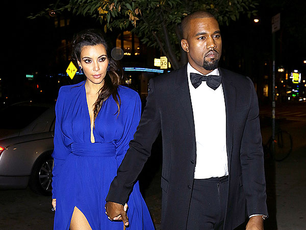Kim Kardashian, Kanye West Charity Event New York City