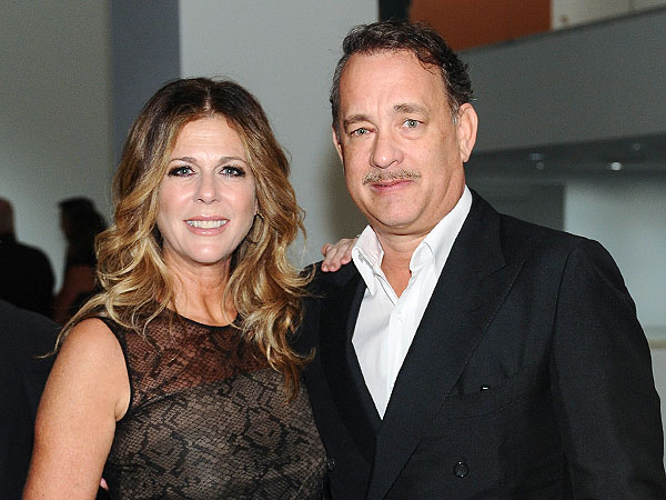 Tom Hanks & Rita Wilson Give a Standing Ovation in L.A.