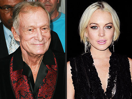 Hugh Hefner Had 'Mixed Emotions' About Lindsay Lohan Doing Playboy