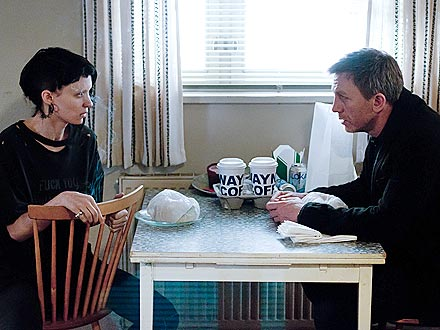 Girl with the Dragon Tattoo - Rooney Mara Transforms: PEOPLE review