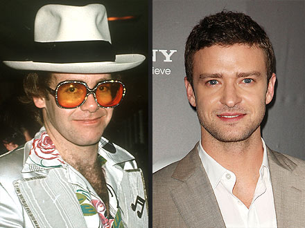 Elton John Wants to Cast Justin Timberlake in His Biopic