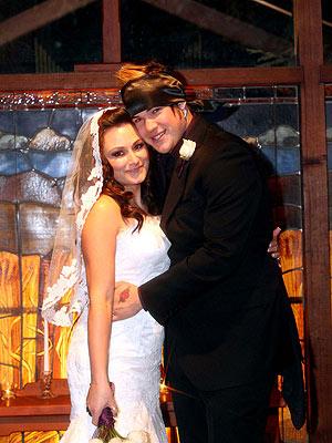 James Durbin S Rock N Roll Wedding Video People Com