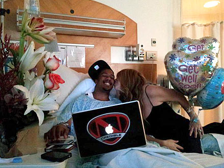 Nick Cannon's Mild Kidney Failure; Mariah Carey Says He Will Leave Hospital