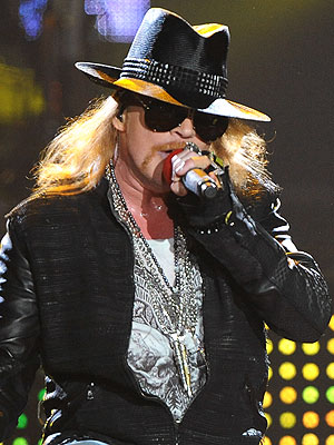 Axl Rose Performs His Civic Duty