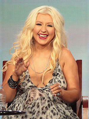 Christina Aguilera: The Voice Coach Talks About Her Body