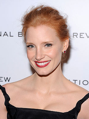 Jessica Chastain Mistaken for Kate Walsh