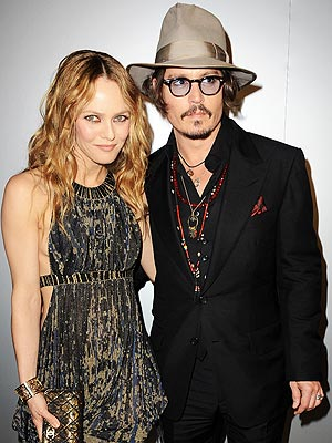 Johnny Depp & Vanessa Paradis Split