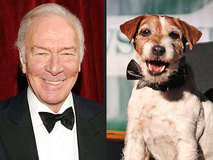Christopher Plummer Insults Uggie the Dog