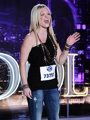 American Idol: Britnee Kellogg, Jessica Phillips, Naomi Gillies Audition