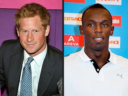 Prince Harry to Jamaica, Meeting Usain Bolt?