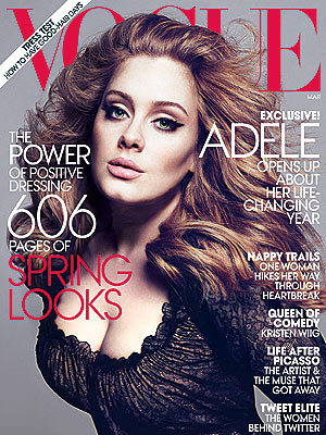 Adele on Vogue: Never Writing Breakup Record Again