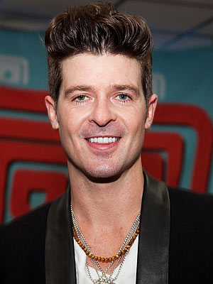 Robin Thicke Arrested for Marijuana Possession