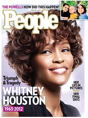 Whitney Houston Death; PEOPLE Cover Story
