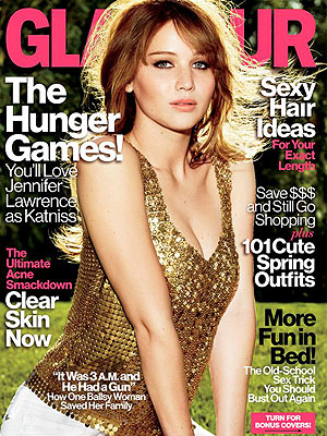 Hunger Games Star Jennifer Lawrence Doesn't Diet