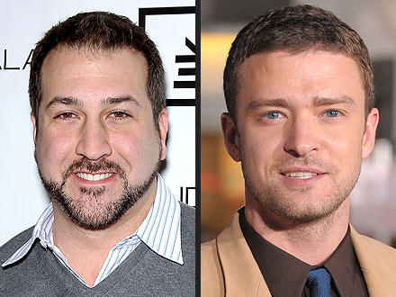 Justin Timberlake Gets Marriage Advice From Joey Fatone