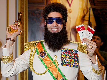 Academy Awards: Sacha Baron Cohen Will Attend