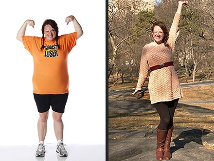 Biggest Loser: Cassandra Ran Seven Miles After Elimination