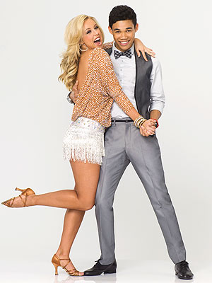 Dancing with the Stars - Roshon Fegan Feels Like an Ant Next to Costars
