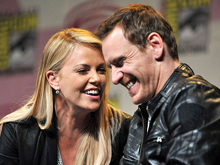 Charlize Theron Impressed by Michael Fassbender's 'Manhood'