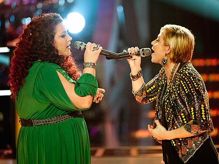 The Voice: Gwen Sebastian and Erin Willett's Emotional Battle