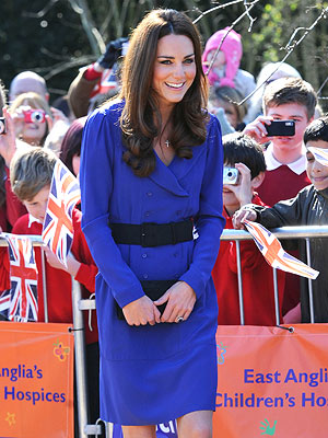 Kate Makes Her First Speech as a Royal