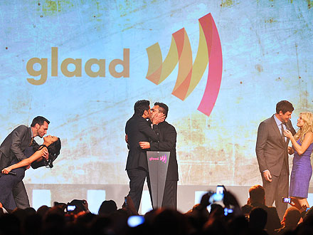 GLAAD Awards Kiss-Off
