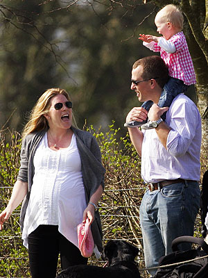 Peter Phillips, Autumn Phillips Baby Isla Elizabeth Born