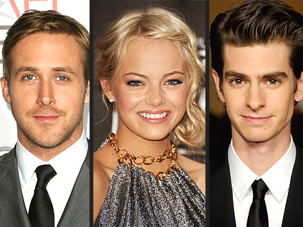 Emma Stone Dating Andrew Garfield; Talks About Kissing Ryan Gosling