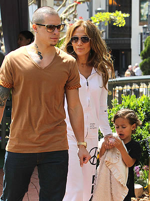 Jennifer Lopez and Casper Smart's Hot Romance