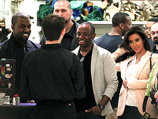 Kim Kardashian & Kanye West Enjoy a Private Dinner Date in N.Y.C. | Kanye West, Kim Kardashian