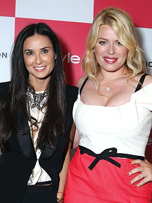 Demi Moore, Amanda De Cadenet Out for Event